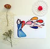 Grafika - Batoh plný farebností - 11881628_