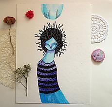 Kresby - Modrý z Lumurmu/ Originál - 11881506_