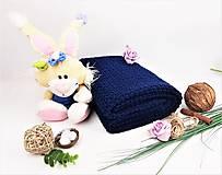 Textil - Háčkovaná deka (nielen) do kočíka pre chlapčeka - 11879939_