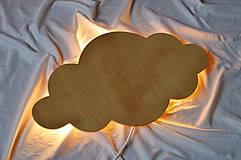 Detské doplnky - Detská lampa - Obláčik - 11882011_