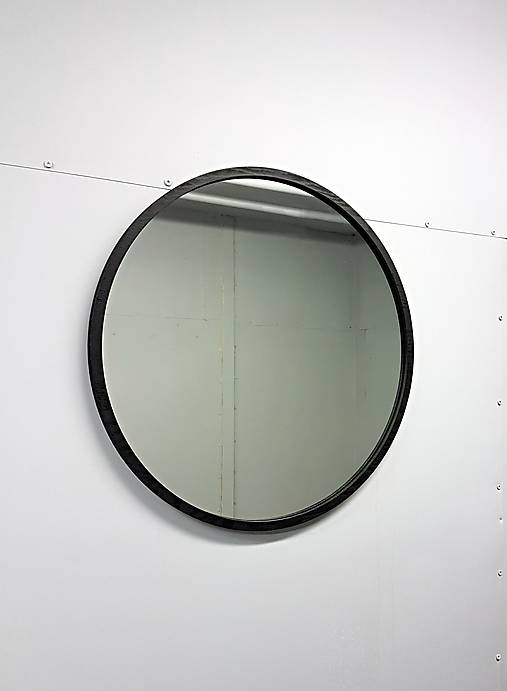 Marc Round Mirror XXL - BLACK