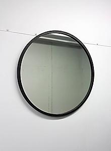 Zrkadlá - Marc Round Mirror XXL - BLACK - 11880599_