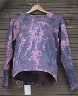 Tričko_ReCyVec_T-shirt_batik_violet