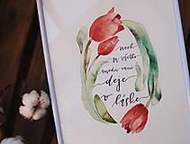 Obrazy - NECH SA VŠETKO MEDZI VAMI DEJE V LÁSKE - art print - 11882117_