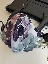 Rúška - Bavlnené rúško dvojvrstvové Deluxe - 11880125_