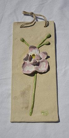 Obrázky - Keramický obrázok - orchidea - 11879126_