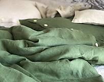 Úžitkový textil - Ľanové posteľné obliečky - 11880888_
