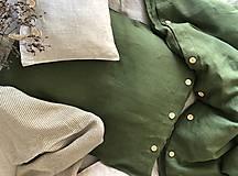 Úžitkový textil - Ľanové posteľné obliečky - 11880912_