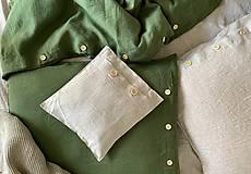 Úžitkový textil - Ľanové posteľné obliečky - 11880930_