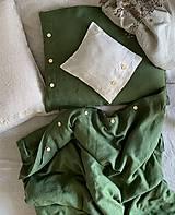 Úžitkový textil - Ľanové posteľné obliečky - 11880932_