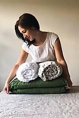 Úžitkový textil - Ľanové posteľné obliečky - 11880969_