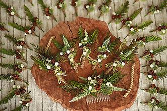 Ozdoby do vlasov - Svadobný set LES- výroba na mieru - 11882191_