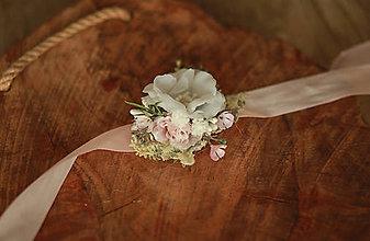 """Náramky - Kvetinový náramok pre družičky """"Romantic"""" - 11887389_"""