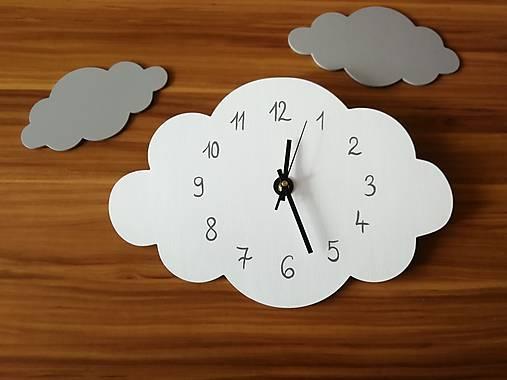 Funkčné dizajnové hodiny – obláčik