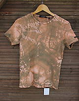 Tričko_ReCyVec_T-shirt_batik_brown