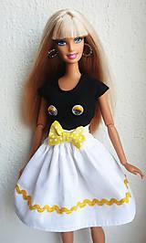 Hračky - Tričko + sukňa komplet pre Barbie - 11885727_