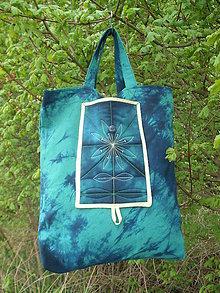 Nákupné tašky - nákupna taška batika - 11884033_