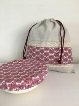 Úžitkový textil - Darčekový set produktov- srdiečková edícia - 11885008_