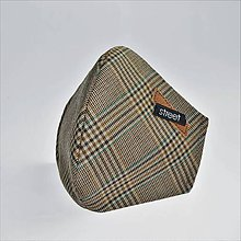 Rúška - Pánske dvojvrstvové ochranné rúško - 11890228_