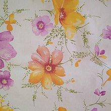 Nákupné tašky - Nákupná taška kvety (lúčne kvety) - 11889604_