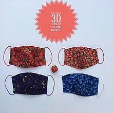 Rúška - Rúška/ústenky  3D 4 vrstvy - 11891381_