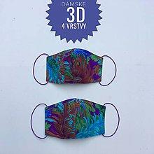 Rúška - Rúška/ústenky  3D 4 vrstvy - 11891385_