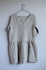 Šaty - Šaty CLARA pásikové - 11890884_