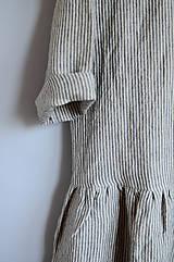 Šaty - Šaty CLARA pásikové - 11890885_