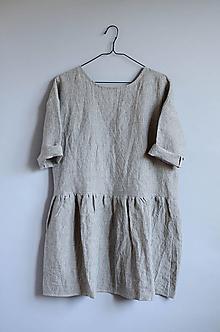 Šaty - Šaty CLARA pásikové (M) - 11890886_
