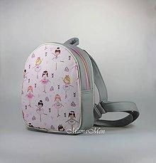 Batohy - detský batoh Lili - baletka - 11890909_