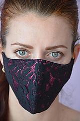Rúška - Rúško na tvár osudová žena - 11889043_