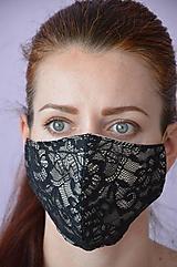 Rúška - Rúško na tvár osudová žena - 11889047_