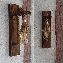 Svietidlá a sviečky - Lampa lano - 11891048_