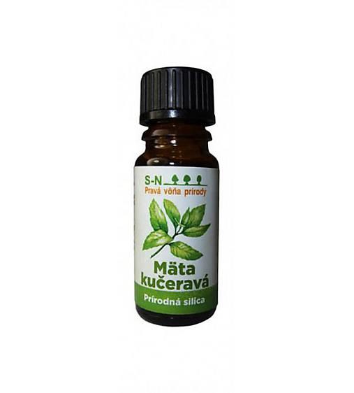 SLOWNATUR Prírodný esenciálny olej (Mäta kučeravá)