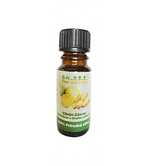 SLOWNATUR Prírodný esenciálny olej (Citrón- zázvor)