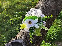 Náramky - kvetinový náramok - 11888472_