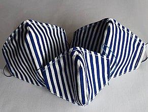Rúška - Ochranné rúško 3-vrstvové s kapsičkou a drôtikom - Rodinné Sety - 11890544_
