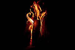 Fotografie - Oheň v krbe - 11889549_