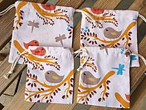 Úžitkový textil - vrecúško 1+1 - 11888148_