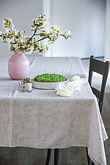 Úžitkový textil - Ľanový obrus - 11889762_