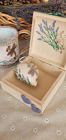 Krabičky - Levanduľový set - 11890169_