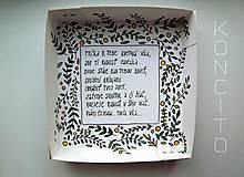 Dekorácie - Víla Phlox + krabička - 11892237_