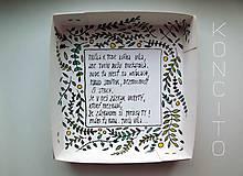 Dekorácie - Víla Phlox + krabička - 11892239_