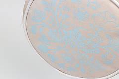 Kabelky - Kulatá s autorským tiskem - můra, krémová - 11892548_