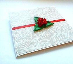 Papiernictvo - Pohľadnica ... ruže červené - 11895474_