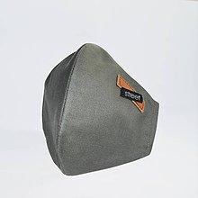 Rúška - Pánske dvojvrstvové ochranné rúško - 11893207_