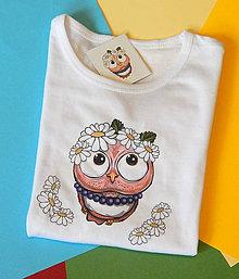 Detské oblečenie - Detské tričko s dlhým rukávom - OčiPuči Margarétka - 11895827_