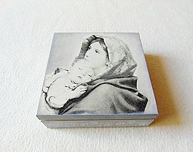 Krabičky - Drevená krabička- rezervácia - 11894545_