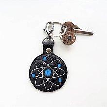 Kľúčenky - Prívesok atóm - 11894580_