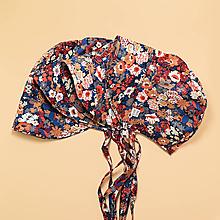 Detské čiapky - Čepiec kvety - 11893137_